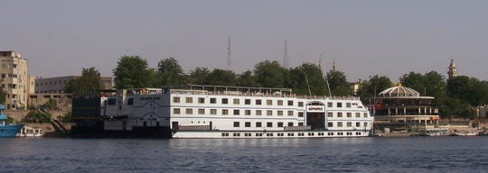 Mom will love her floating luxury hotel, the Nile River cruiser Royal Lotus.
