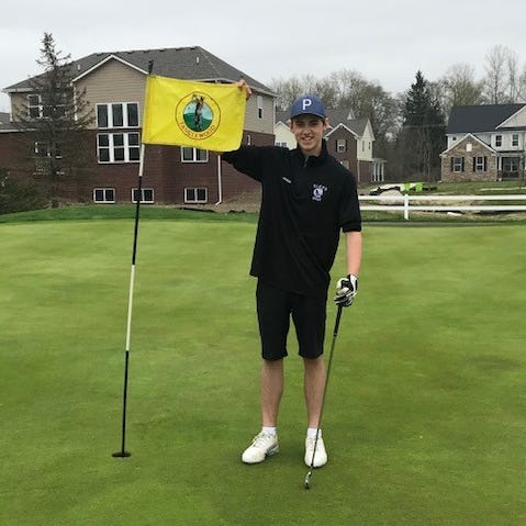 South Lyon East golfer hits hole-in-one against Waterford Kettering