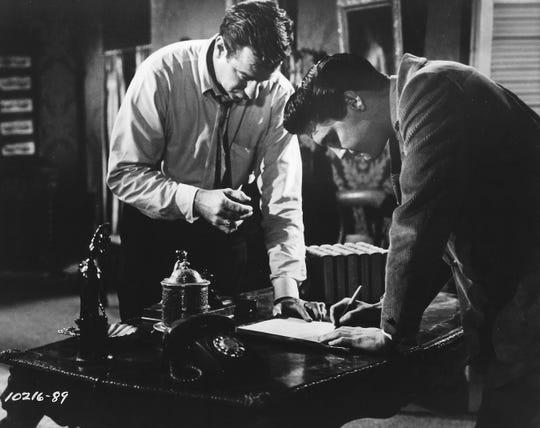 "Walter Matthau and Elvis Presley star in ""King Creole,"" screening Saturday at the Arthur Lyons Film Noir Festival in Palm Springs"