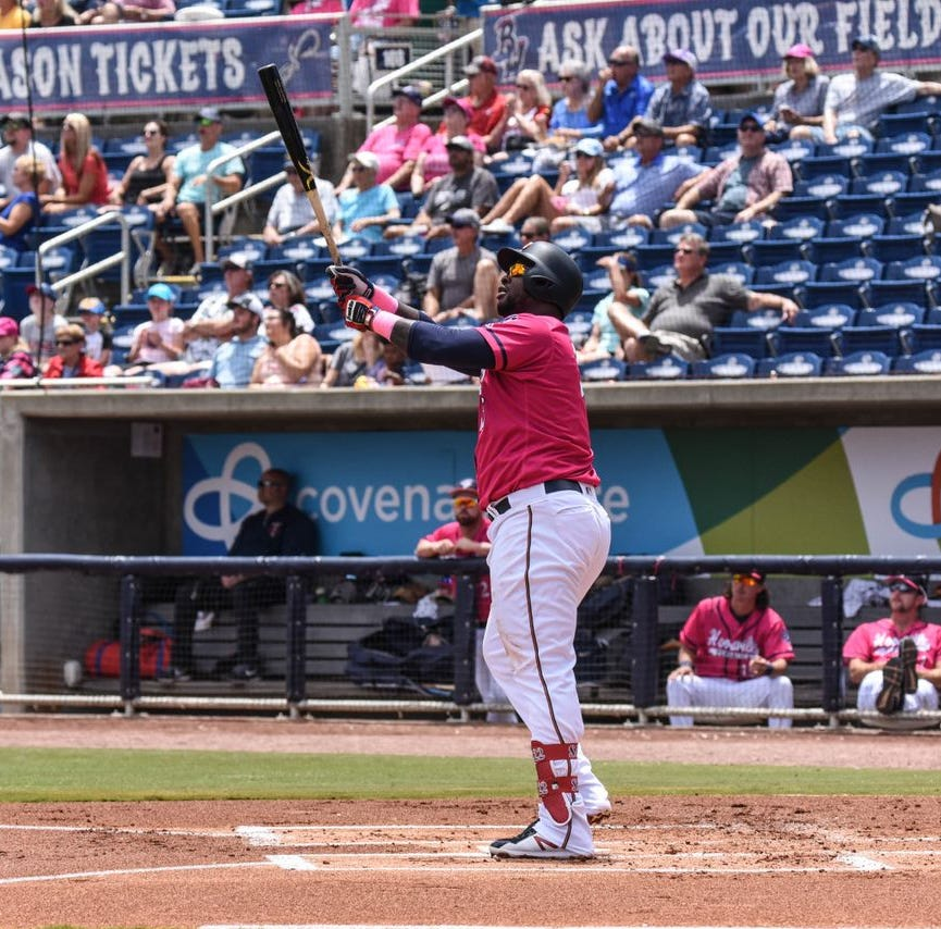 Sano's first-inning bomb leads Blue Wahoos run barrage in series win