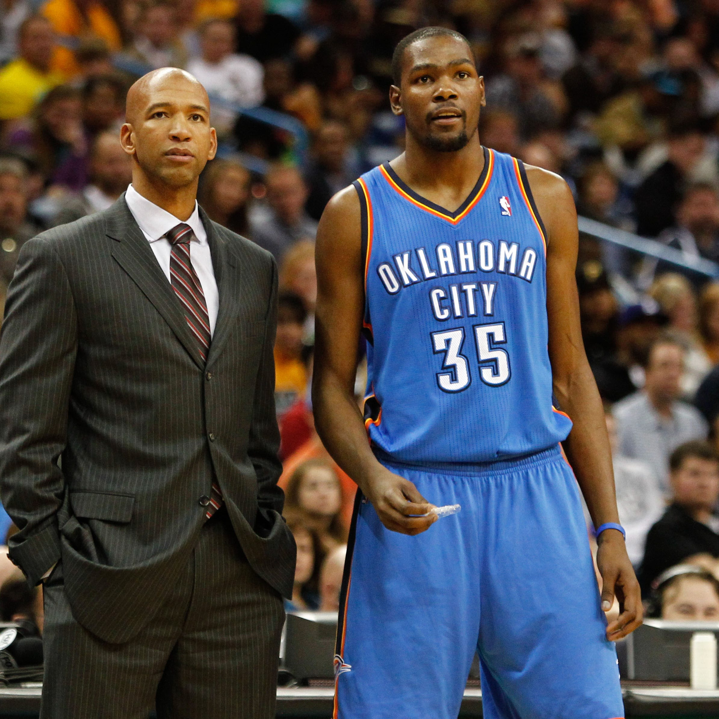 Kevin Durant praises new Suns coach Monty Williams, fuels Phoenix rumors