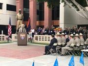 DPS Trooper Hawkins Mann reminisces about his time training to join the Arizona Department of Public Safety with fallen trooper Tyler Edenhofer.