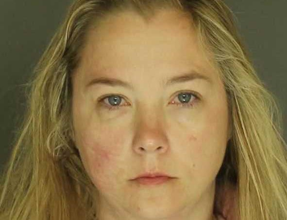 Patricia Tyson, arrested for simple assault and harassment.