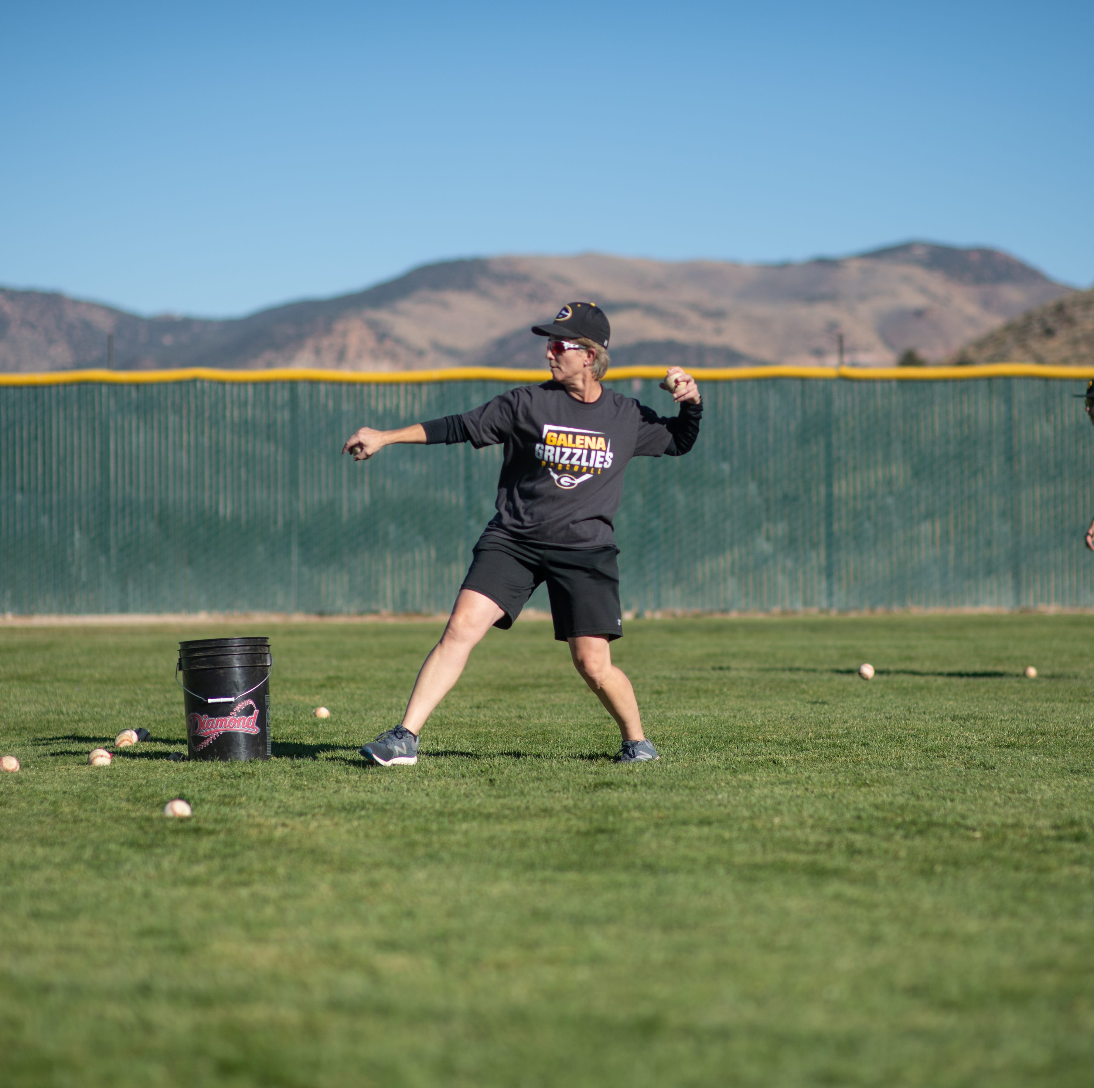 Concert violinist turns focus to coaching baseball