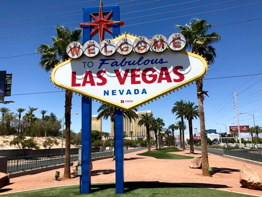 "The iconic Las Vegas ""Welcome"" sign turned 60 this week."
