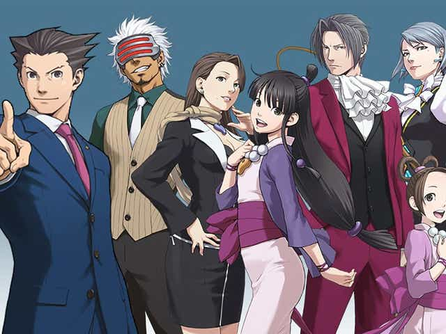 phoenix wright ace attorney female characters