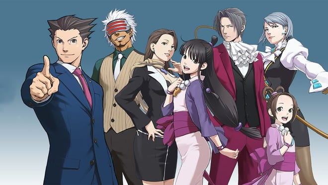"""Phoenix Wright: Ace Attorney Trilogy"" for PC, PS4, Switch and Xbox One."