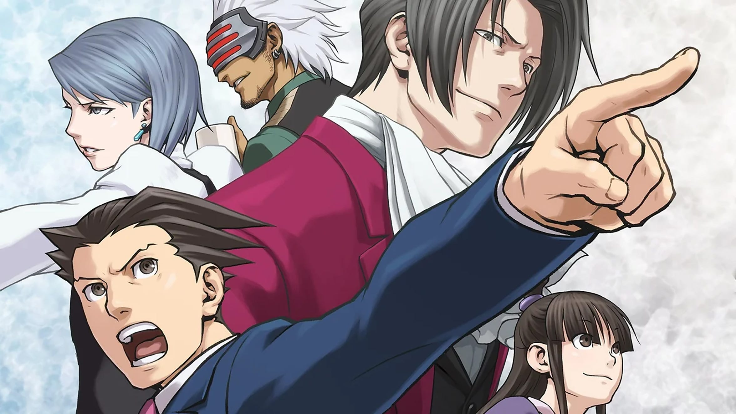 """""""Phoenix Wright: Ace Attorney Trilogy"""" for PC, PS4, Switch and Xbox One."""