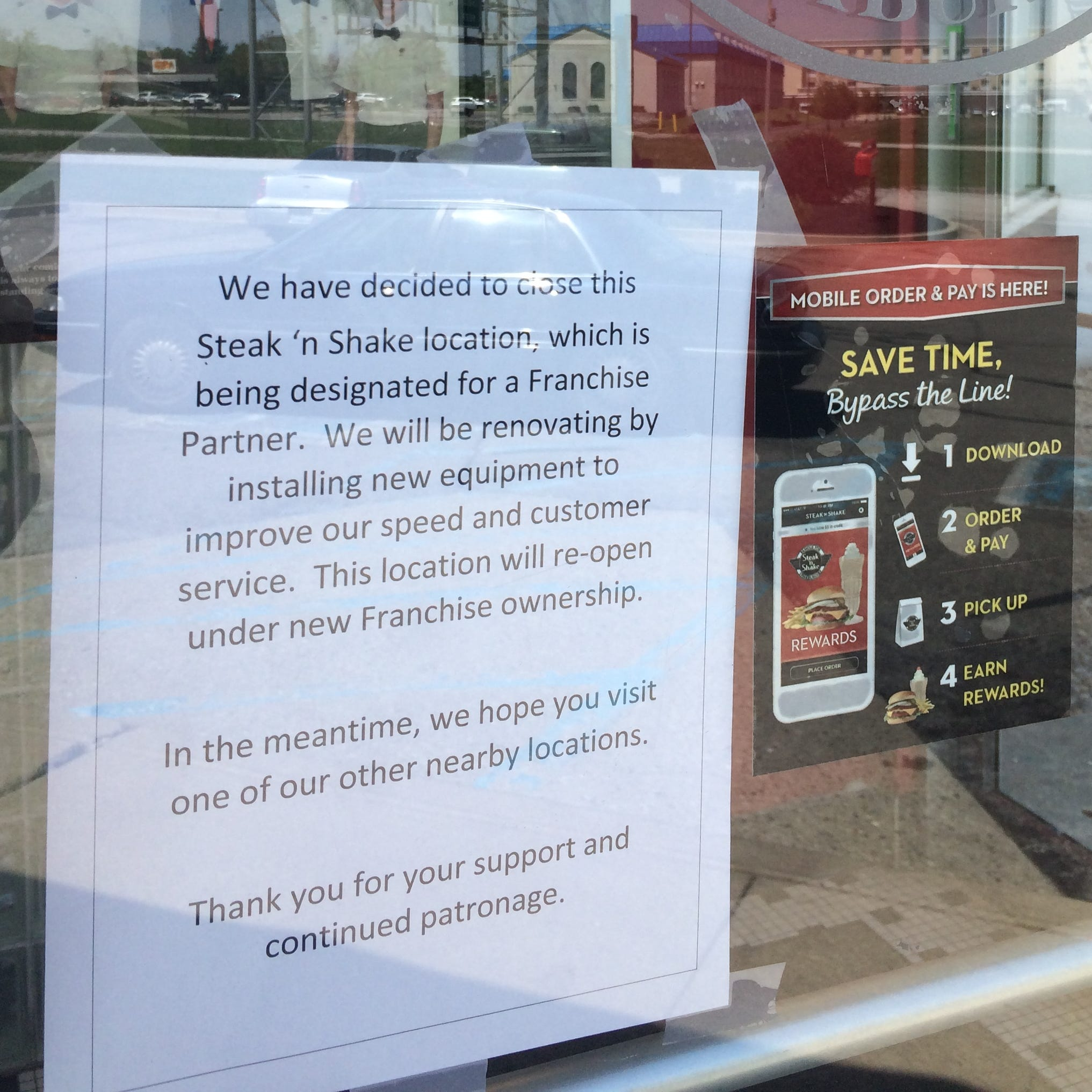 Notice: Richmond's closed Steak 'n Shake will reopen under franchisee