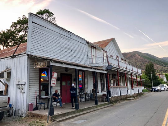 The French Gulch Hotel, built in 1885, is on the National Register of Historic Places.