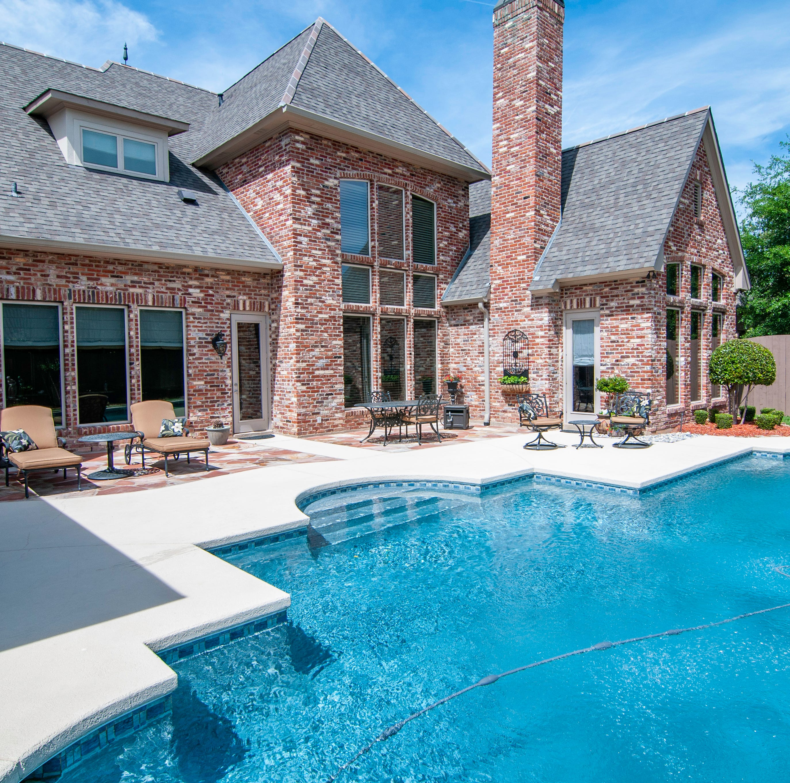 Spend summer poolside in prestigious Bossier estate