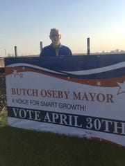 Butch Oseby, to be sworn in as mayor of Crooks on May 15.