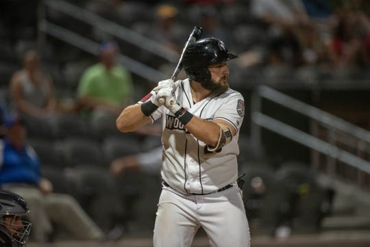 Brandon native Jake Adams is in his second year with the Fayettville Woodpeckers, a part of the Houston Astros farm system.