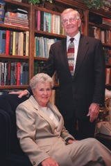 Ralph Manley and his wife, Jayne,  who passed away in 2008.