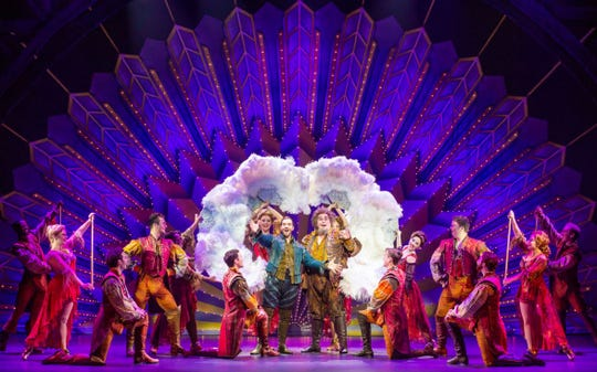 """A scene from the national touring production of """"Something Rotten!"""