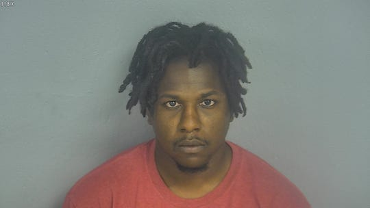 Mikael Cooper-Falls in a mugshot from the Greene County Jail.