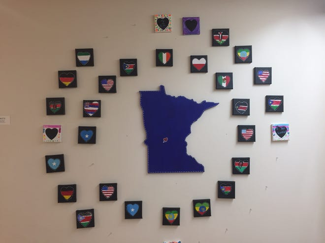 """""""Paisley Pride,"""" a showcase bythe Boys & Girls Clubs of Central Minnesota, will be on display at the Paramount Center for the Arts through May."""