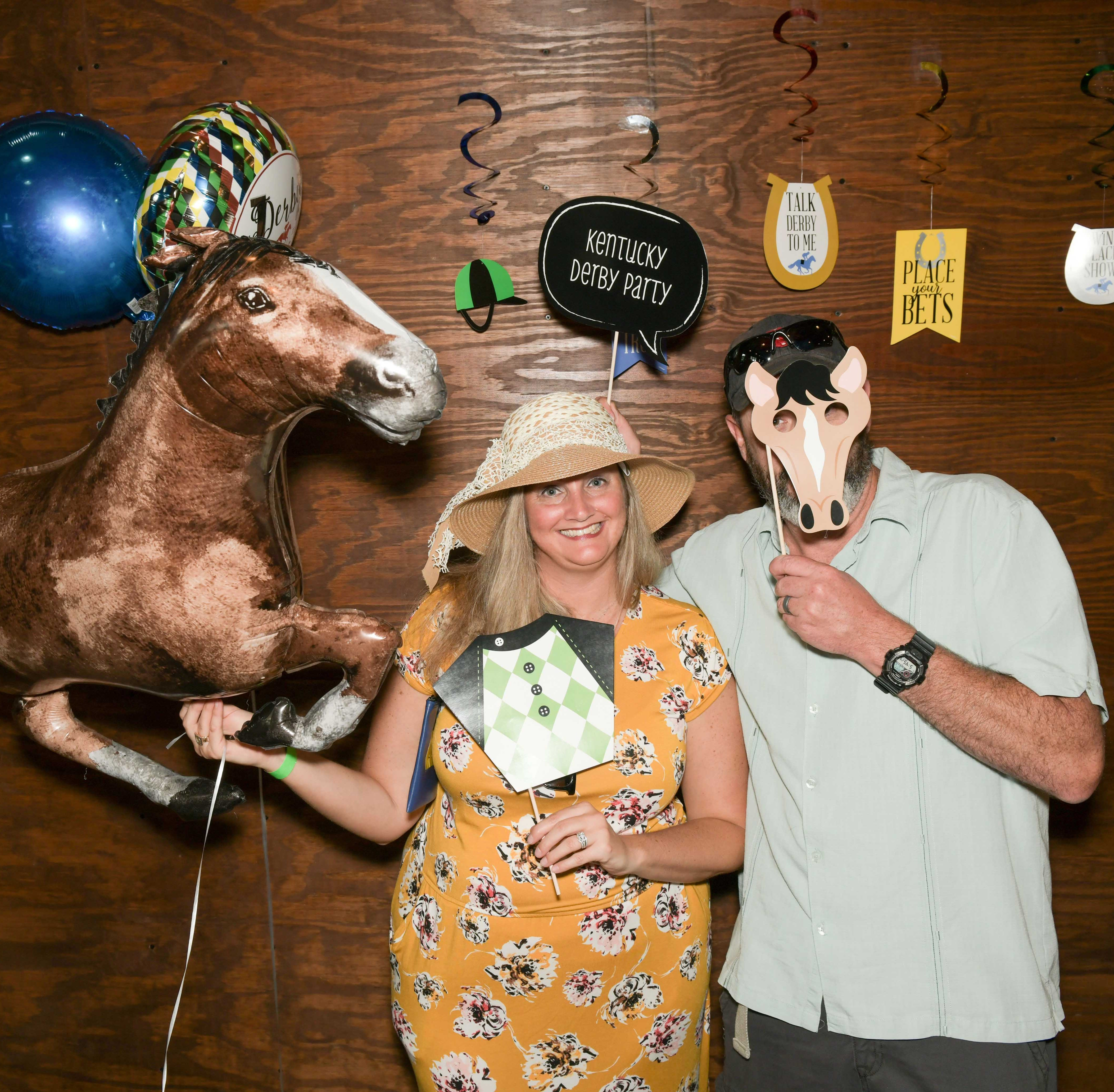 Royal Palms enjoy horsing around at Kentucky Derby-themed fundraiser in Vero Beach