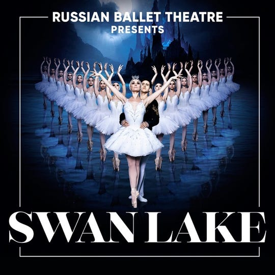 """The Russian Ballet Theatre is bringing """"Swan Lake"""" to El Paso."""