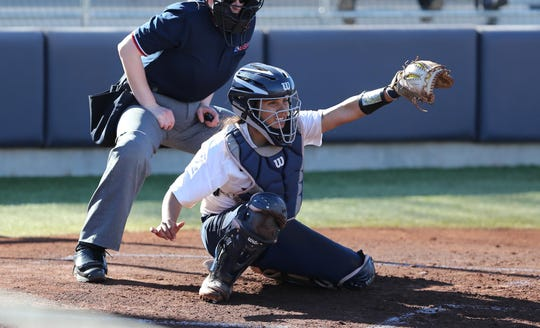 UTEP catcher Linda Garcia is hitting .308 after the Miners and is the reigning Conference USA player of the week