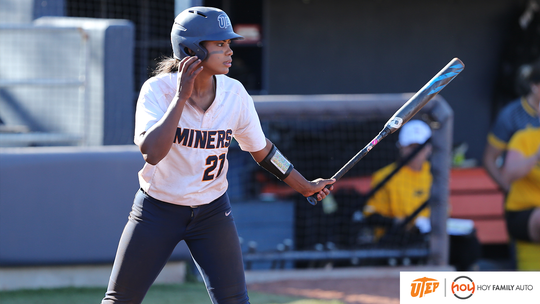 UTEP's Courtney Smith has 31 career home runs, the fourth most in program history.
