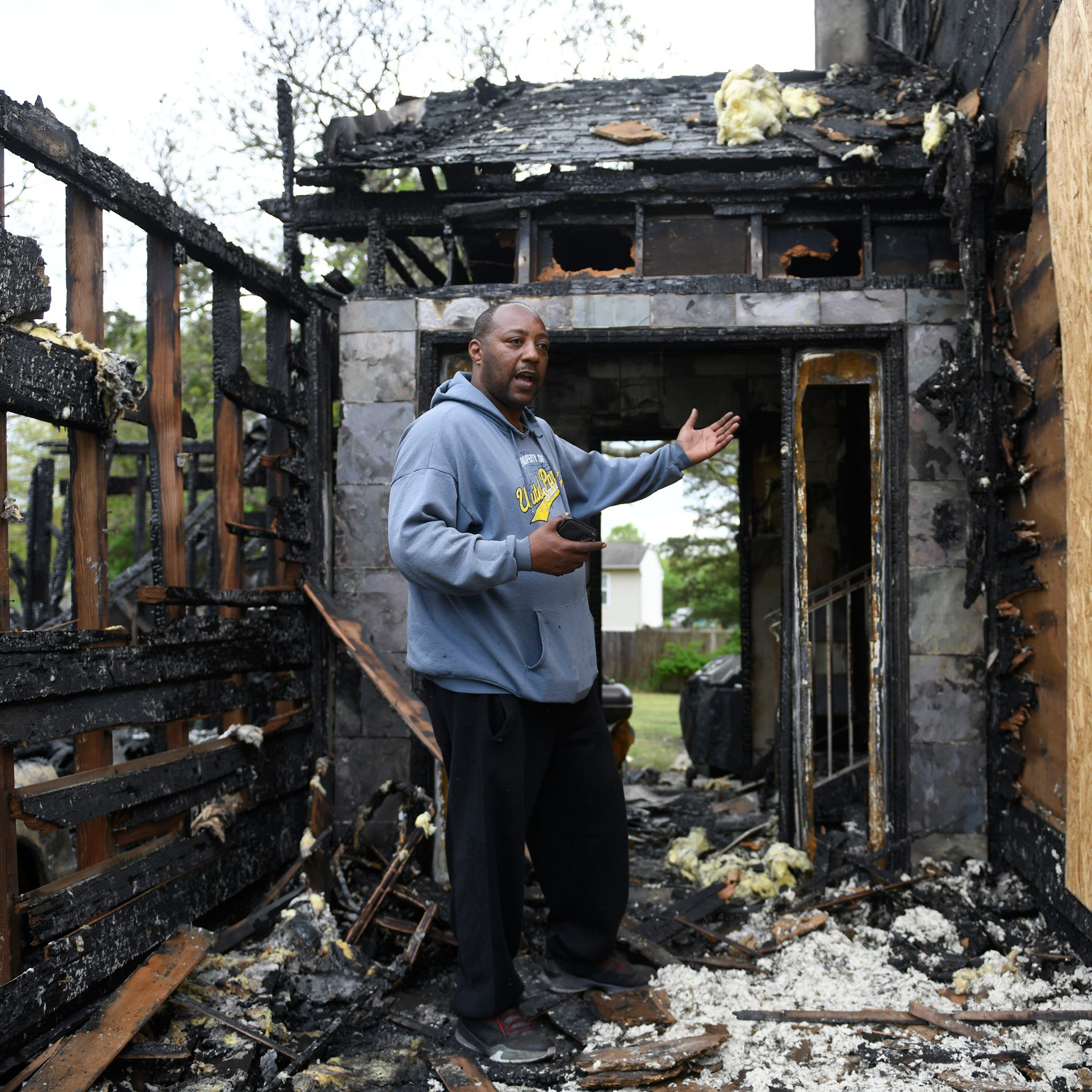Video doorbell wakes up South Jersey couple during intense fire