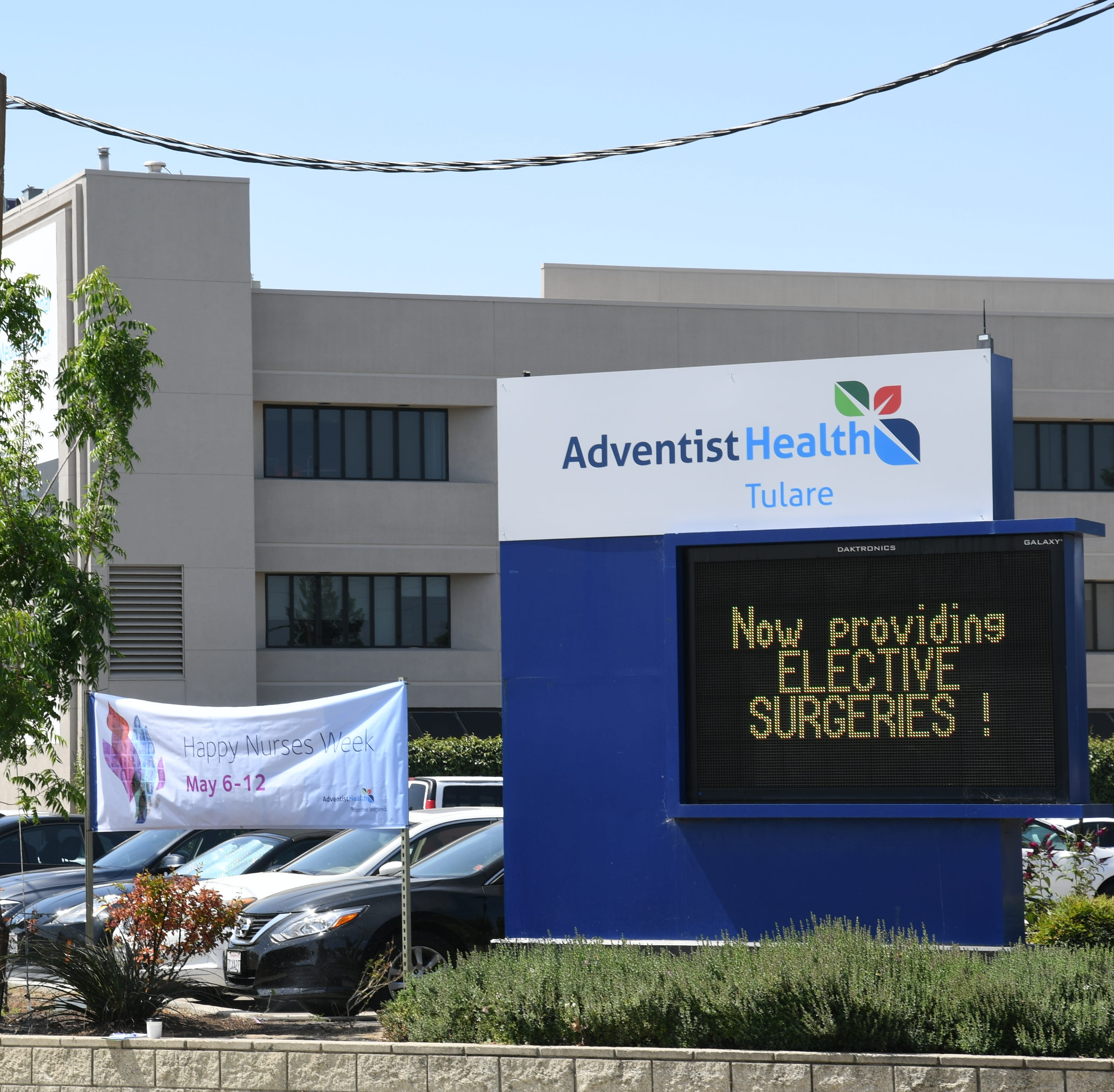 Adventist Health Tulare unveils new sign, logo. Is it enough to rebuild patients' trust?