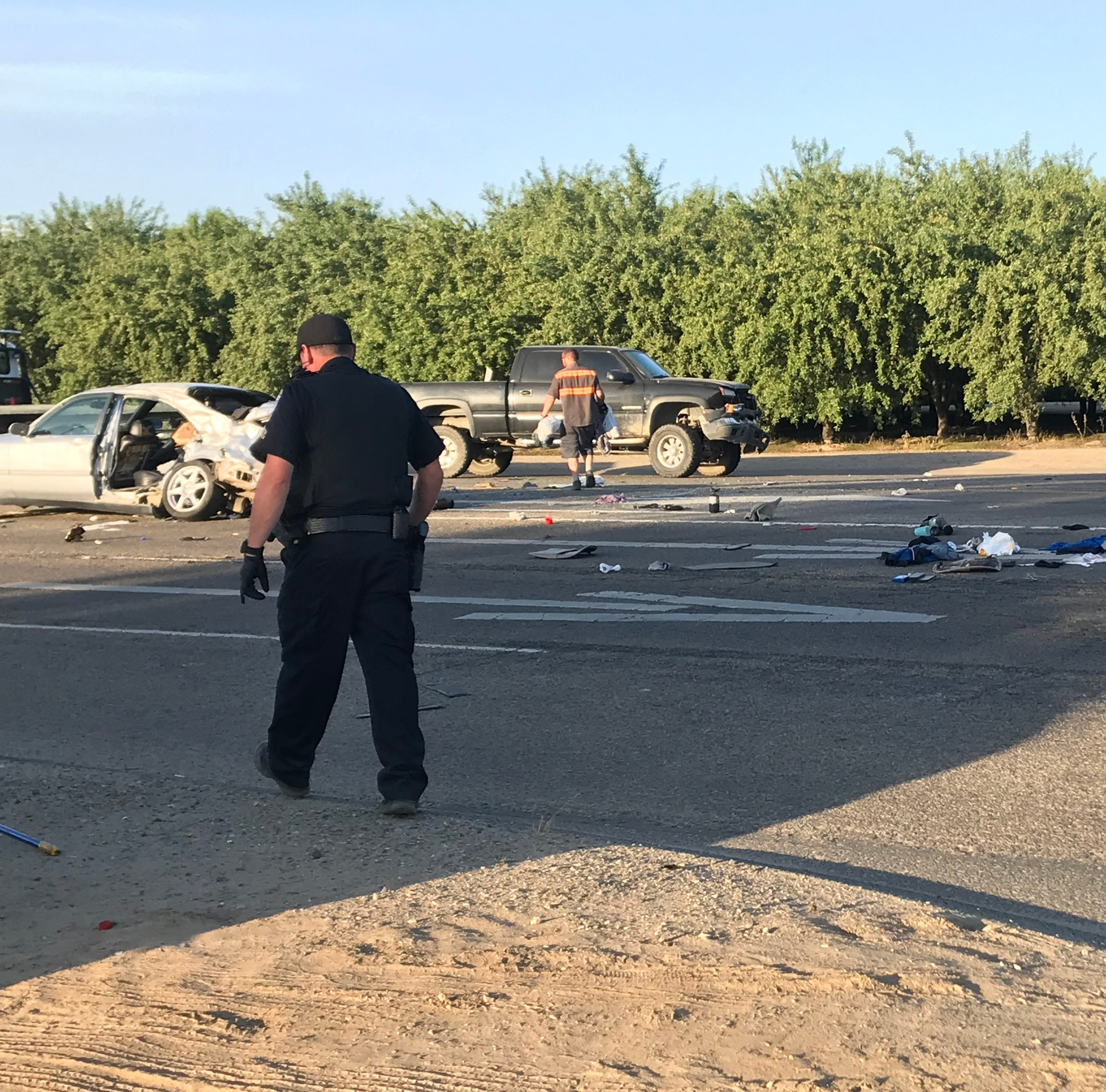 One dead in two-vehicle collision near Mooney Grove Park