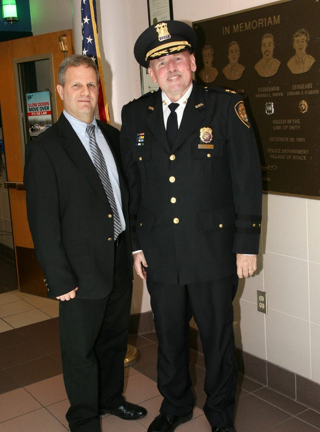 Orangetown Police Chief Nulty retires after more than two