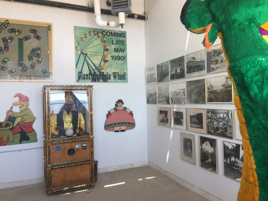 A small room on the Rye Playland boardwalk will display the historical amusement park's history. A Playland museum previously in use was closed when the Westchester Children's Museum began construction on the boardwalk, officials said.