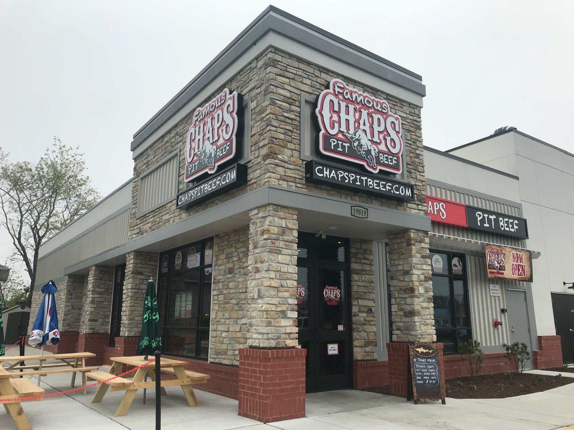 Chaps Pit Beef has opened a franchise in Rehoboth Beach. The eatery was founded in Dundalk, Maryland