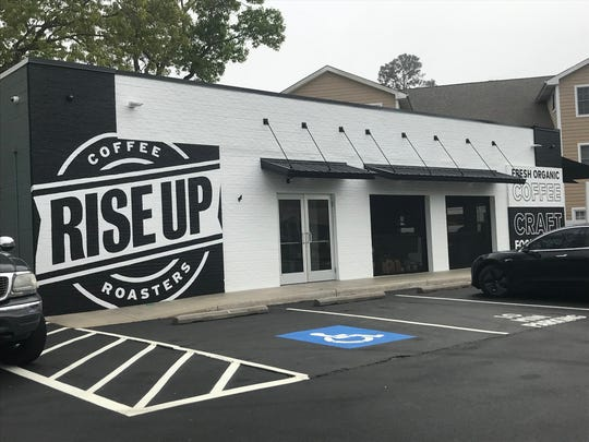 Rise Up is a new coffee roastery and restaurant in Rehoboth Beach. It's located off Rehoboth Avenue next to the traffic circle.
