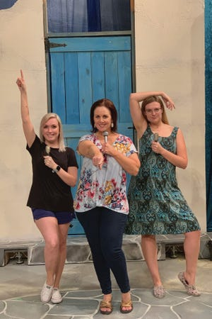 "The fabulous musical ""Mamma Mia!"" runs through June 8, Thursdays, Fridays and Saturdays at 7:30 p.m. at the Backdoor Theatre."
