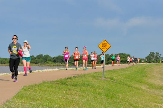 The Wichita Falls Runners Club will host its 2019 Dam Run from 8 a.m. to noon Saturday. The 5K, 10K, and 15K starts and finishes at the Lake Wichita Park Pavilion. There is also a one mile distance for children.