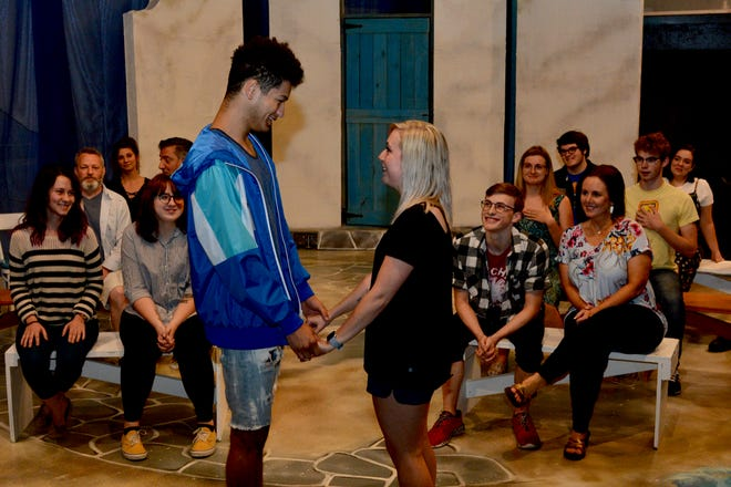 """The fabulous musical """"Mamma Mia!"""" opens at 7:30 tonight and Saturday at the Backdoor Theatre and runs through June 8."""