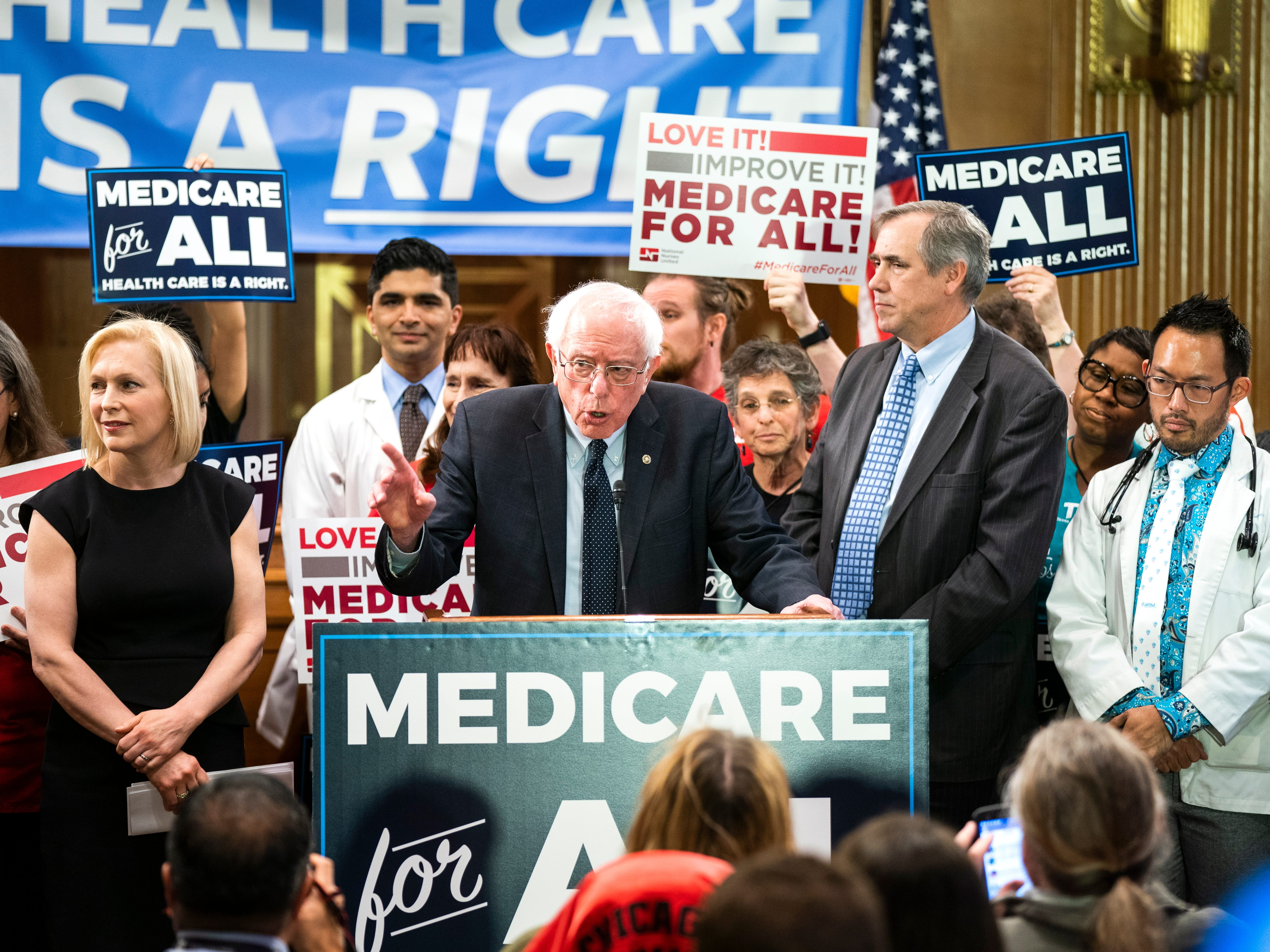 'Medicare for All': Bernie Sanders' political pipe dream