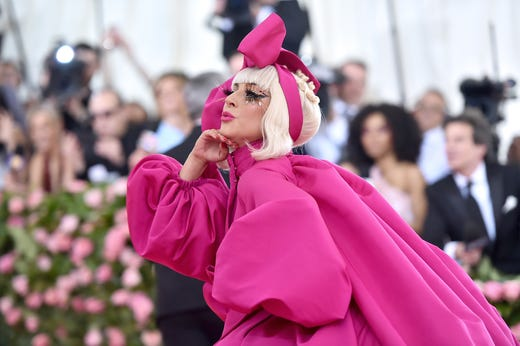 "The Met Gala, the annual fundraiser for the Metropolitan Museum of Art's Costume Institute, was Monday. This year's theme was ""Camp: Notes on Fashion,"" and Lady Gaga kicked off the festivities, peeling down from one layer to the next in true camp style."