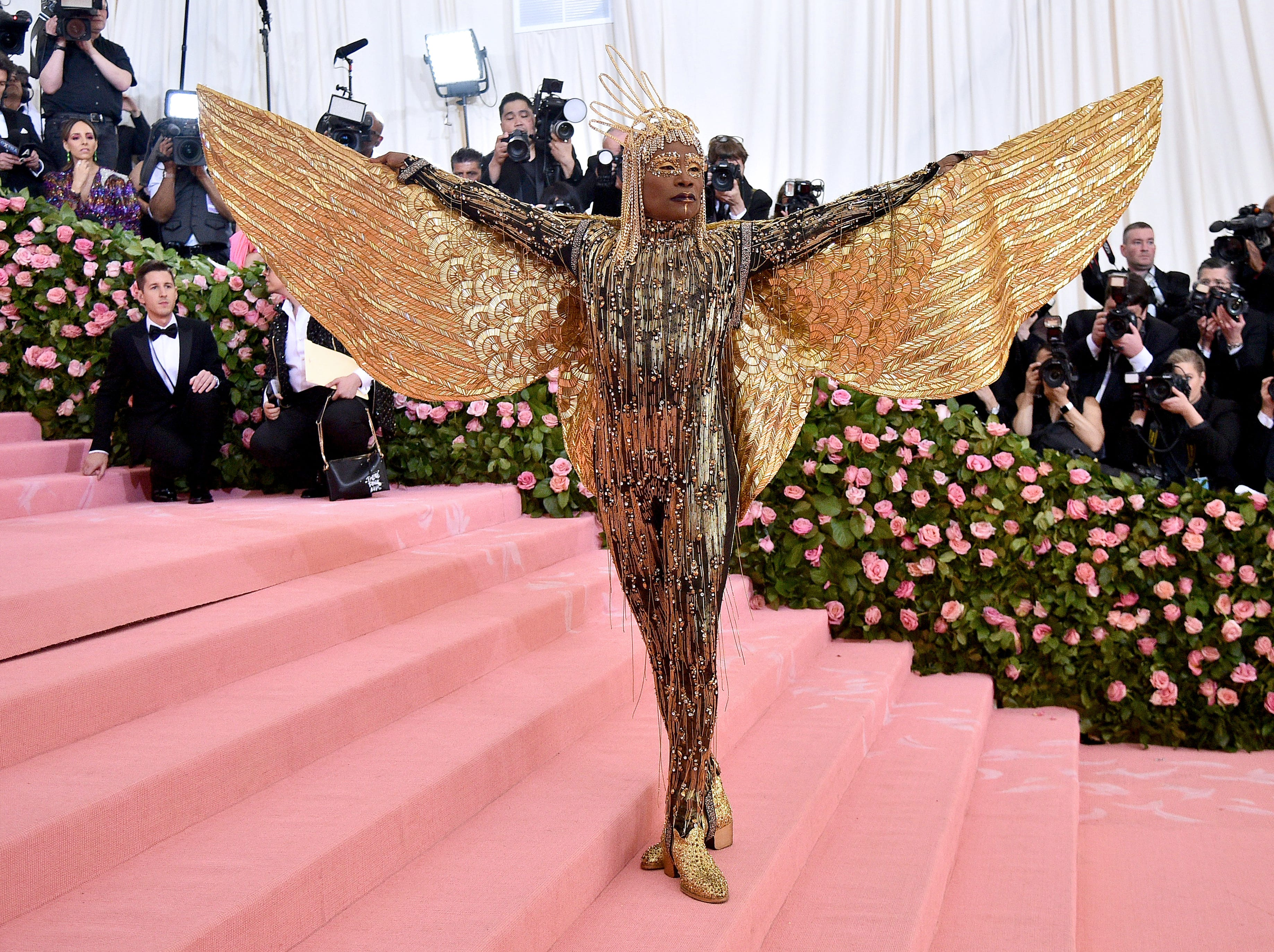 NEW YORK, NEW YORK - MAY 06: Billy Porter attends The 2019 Met Gala Celebrating Camp: Notes on Fashion at Metropolitan Museum of Art on May 06, 2019 in New York City. (Photo by Theo Wargo/WireImage) ORG XMIT: 775333959 ORIG FILE ID: 1147407968