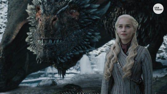 Emilia Clarke plays Daenerys Targaryen on HBO's 'Game of Thrones'