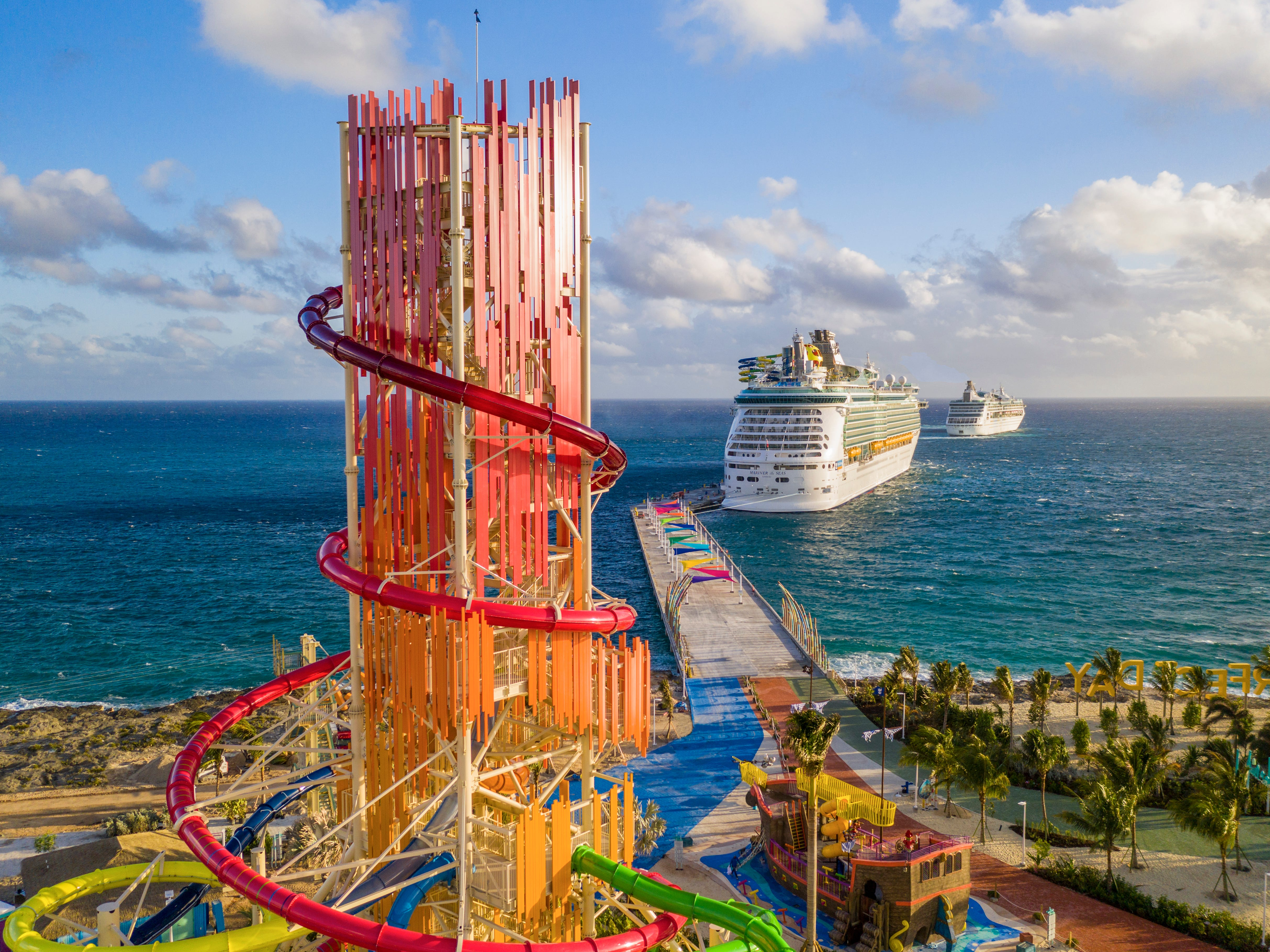 Royal Caribbean's CocoCay private island gets $250 million makeover