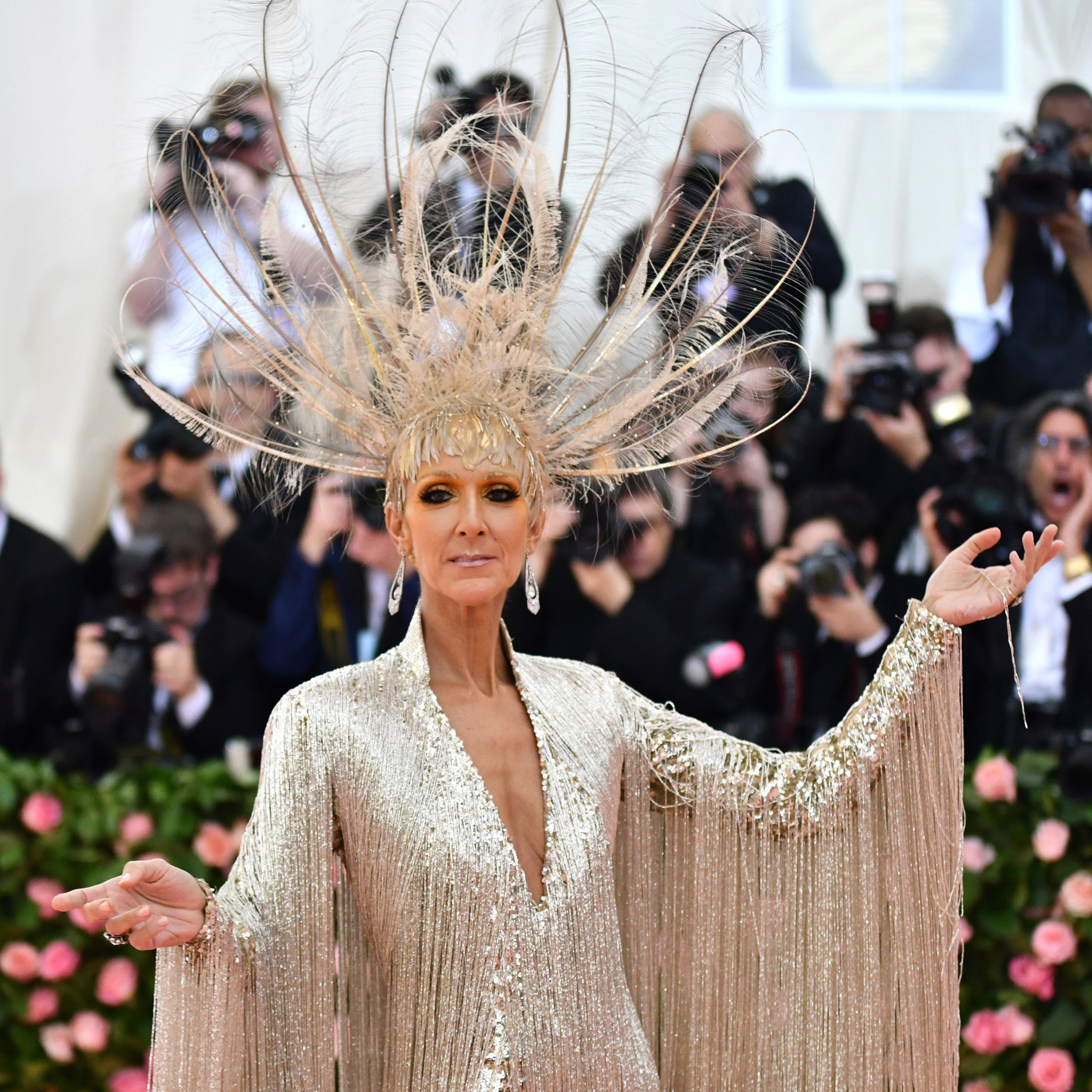 Behold, Celine Dion at the 2019 Met Gala.