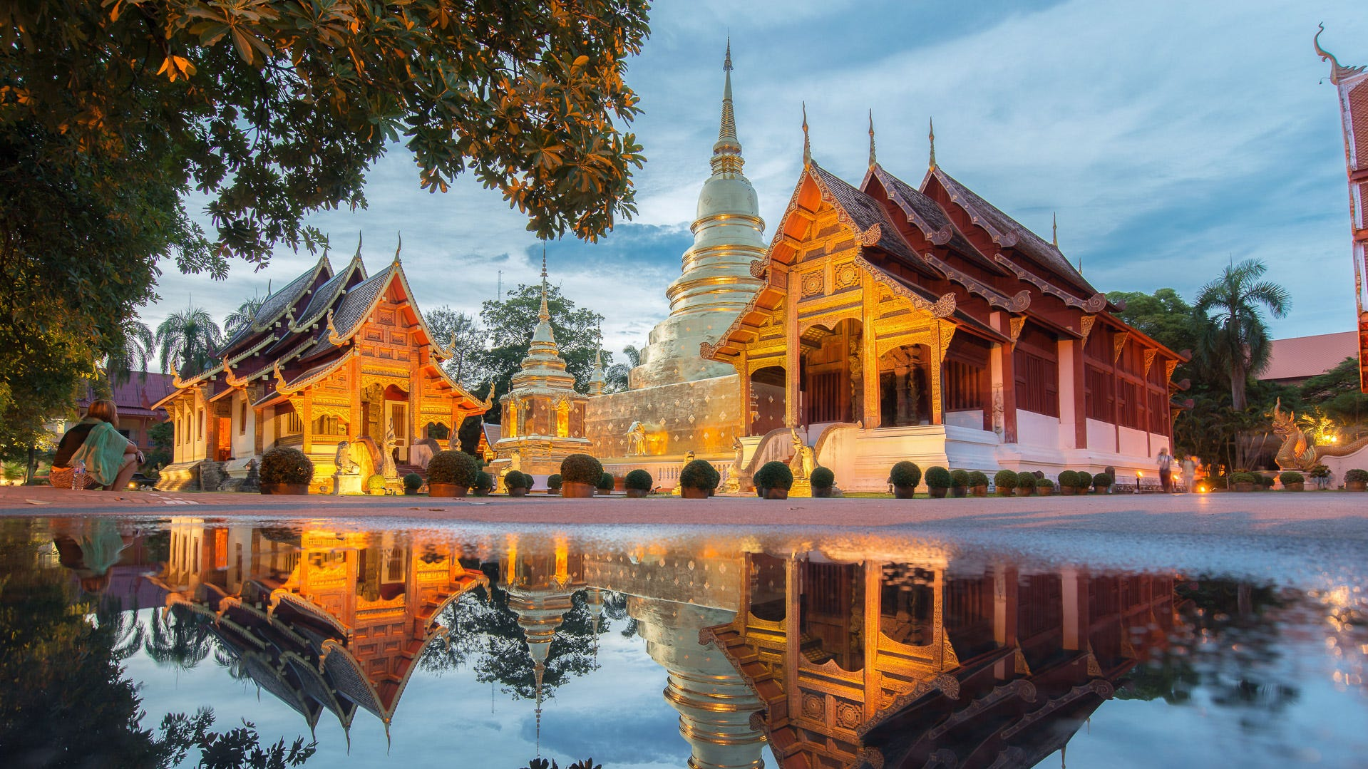 4. Chiang Mai, Thailand. Total cost per day: $10.11. Thailand is one of the cheapest countries to visit: There are four cities in Thailand that made our ranking, but Chiang Mai is the cheapest, with hostels costing an average of $3.15 per night and meals costing an average of $1.58.  Located in northern Thailand, this city in the mountains is the site of numerous stunning Buddhist temples, as well as galleries, boutiques, cafes and restaurants. Chiang Mai's signature dish is its khao soi — egg noodles in curry — so be sure to get this savory meal while you're there.