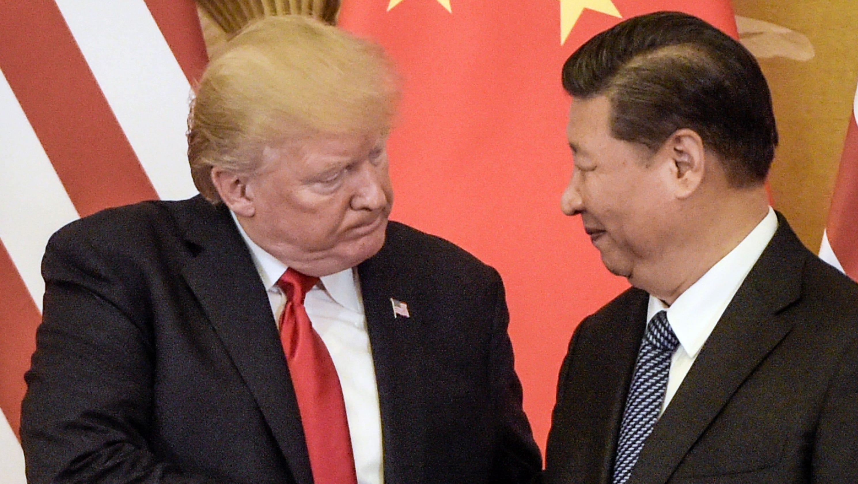 Optimism Greets Investors Sudden >> China Trade Talks What S Behind Donald Trump S Threat Of New Tariffs