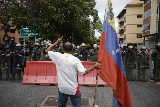In Caracas, Venezuela, on May 4, 2019.