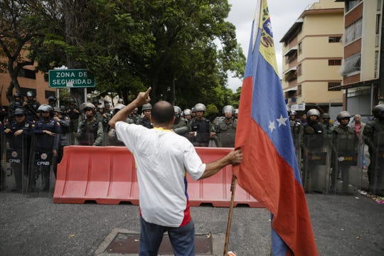 In Caracas, Venezuela, on May 4, 2019.