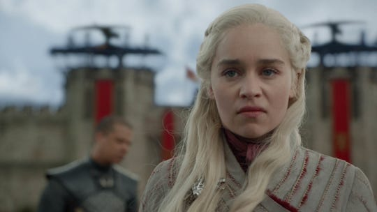 """Emilia Clarke as Dany on """"Game of Thrones."""""""