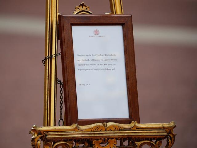 Meghan Markle, Prince Harry welcome royal baby boy: Buckingham Palace