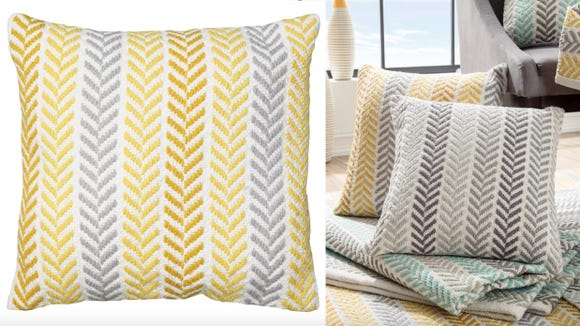 These pillows really throw a room together.