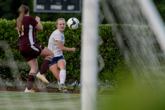 The game-sealing goal scored by sophomore Madison Lance