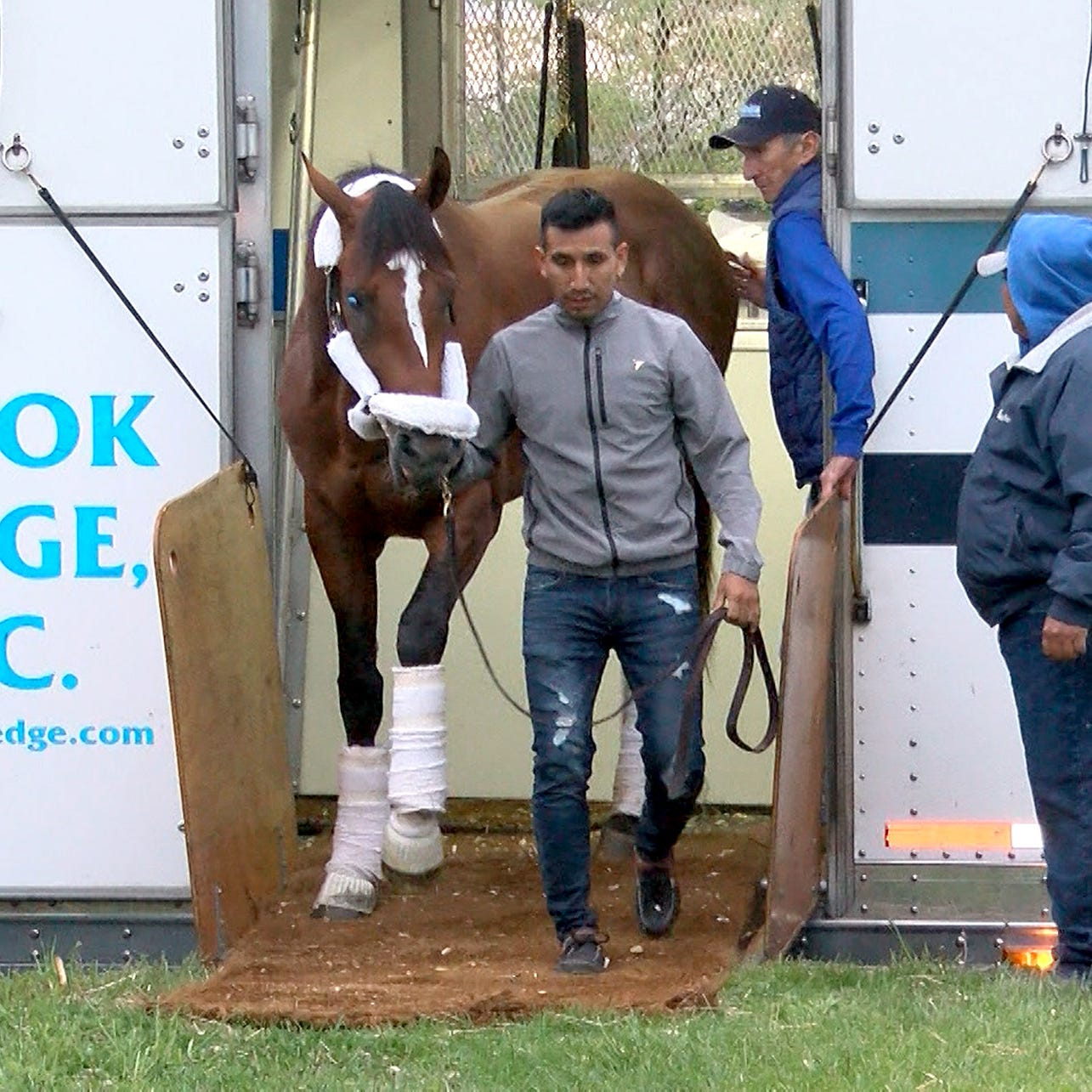 After Kentucky Derby DQ, Maximum Security arrives at Monmouth Park amid shifting landscape